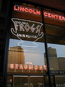 new york the frogs