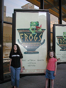 broadway the frogs